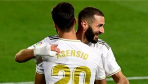 Real Madrid's Benzema And Asensio Goals Beat Valencia