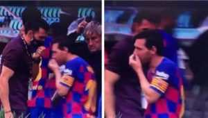 Lionel Messi Doesn't Care About Eder Sarabia
