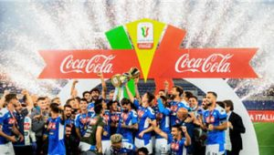 Napoli Beat Juventus 4-2 To Win The Italian Cup
