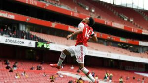 Arsenal Manager Mikel Arteta Hopes Aubameyang Able To Score 100 More Goals