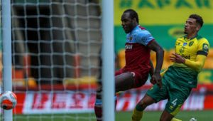 Norwich Eliminated From English Premier League (EPL) After Losing 0-4 to West Ham United