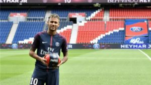Neymar Miss PSG Against Brest