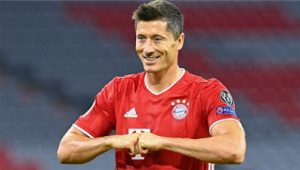 Lewandowski Named FIFA 2020 Player Of The Year