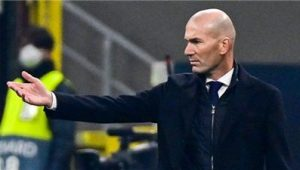 Zidane Confident Of Support From Real Madrid