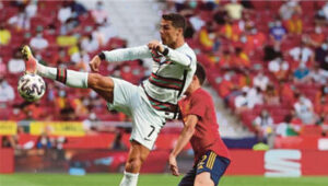 Spain, Portugal Draw Without Goal
